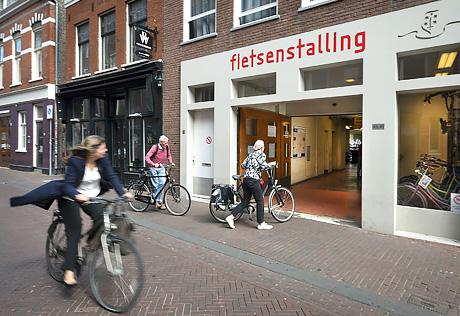 Fietsenstalling Smedestraat