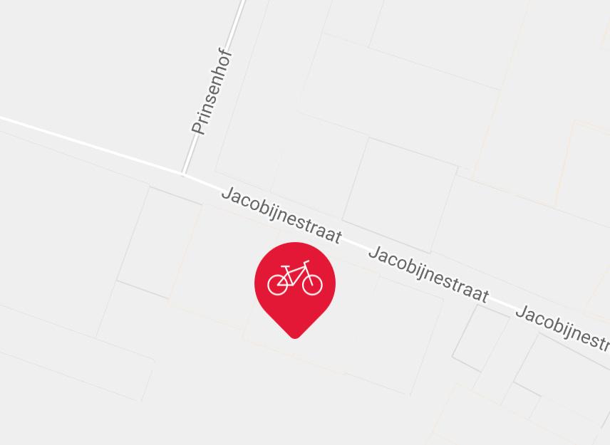 Kaart Jacobijnestraat