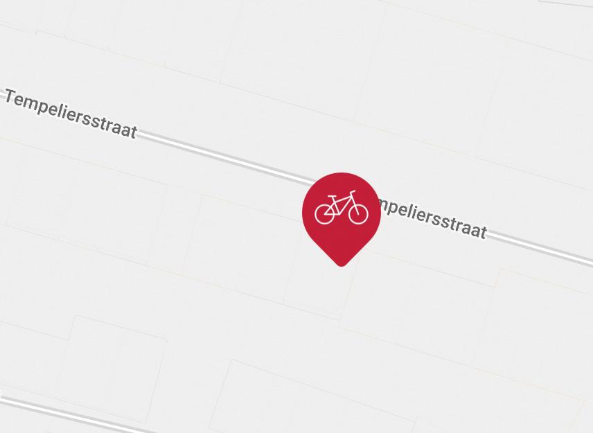 Kaart Tempeliersstraat