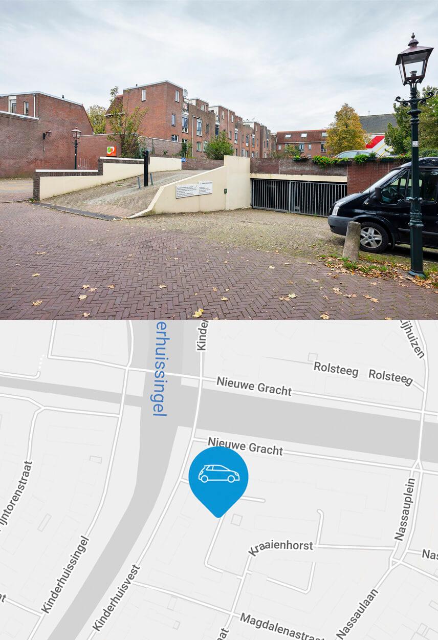 Bewonersparkeergarage Kraaienhorst